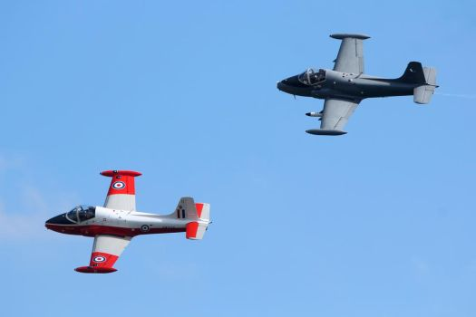 Jet Provost and Strikemaster by Daniel-Wales-Images
