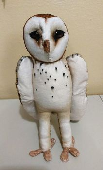 Barn Owl Plush (Made to Order) by Rawri-Tea
