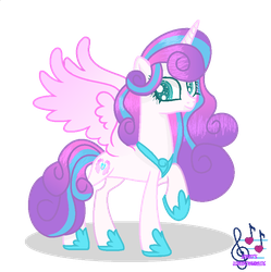 MLP Princess Flurry Heart by SpeedPaintJayvee12