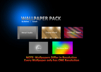 Wallpaper Pack by CanasX