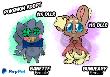 Pokemon Oc Adopt ( AVAILABLE ) by ZonnyBrown