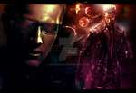 Wesker Wallpaper by RedDevil00