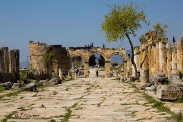 the roman gate of Hierapolis by Sockrattes