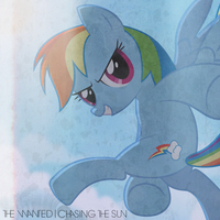 The Wanted - Chasing the Sun (Rainbow Dash) by AdrianImpalaMata