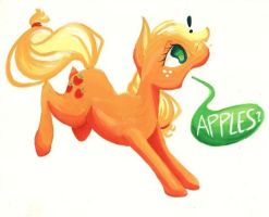 Did Someone Say Apples? by getchanoodlewet