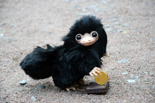 Niffler from Fantastic Beasts by monkeybusinesstoys