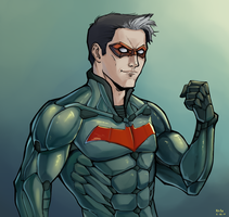 Jason Todd aka Red Hood by kola411
