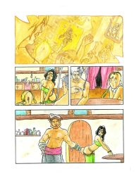 Arabic comic test by Sommum