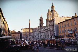 Piazza Navona by RoqqR
