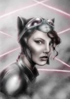 Catwoman by Huang-Jun