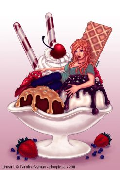 August Icecream -contest entry by dotLinks