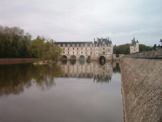 Chenonceau Reflections by AJChimaera