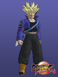 DBFZ Future Trunks SSJ for XPS by KSE25
