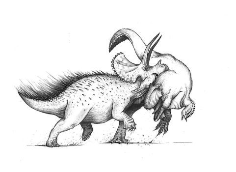 Triceratops by Lythroversor