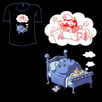 Woot Shirt - Nightmares by fablefire