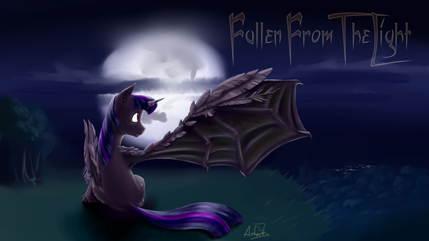 Fallen From The Light by archonix