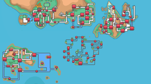 Map of Pokemon world by Assassannerr