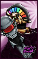 Daft Punk by Bevintock