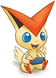 3ds victini by Pyritie