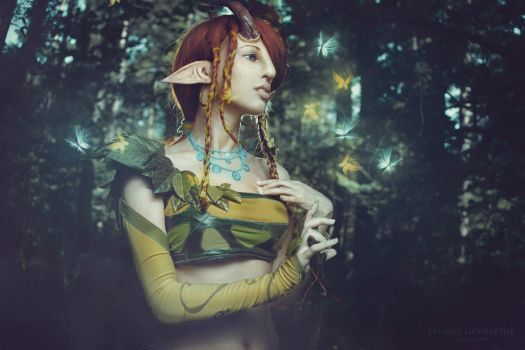 enchantress cosplay - done :3 by day4off