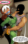 Rogue Gagged by TheOneAndOnlyCaptor