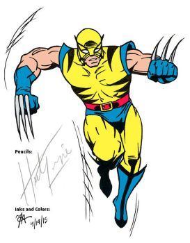 WSC Herb Trimpe Tribute Wolverine by oginmysoul