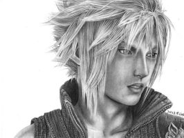 Cloud Strife - Advent Children by happylilsquirrel