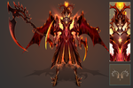 (CUSTOM) - Armored Soul #004 - Flame Reaper by Timothy-Henri