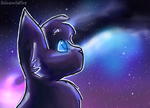 Galaxy by felinewildfire
