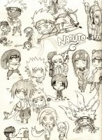 naruto chibi doodles by twinLtwinV