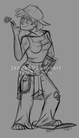 Skater Ami WIP by Songficcer