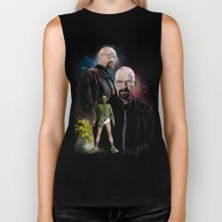 Breaking Bad inspired Watercolor T-Shirt design by Purshue