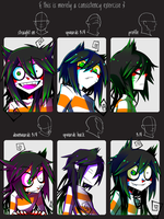 Consistency Exercise Meme - M-chi by zukich