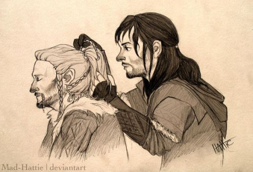 Durins and Ponytails by Mad-Hattie