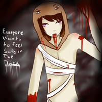Everyone wants to feel safe in the dark by Buren-loves-you