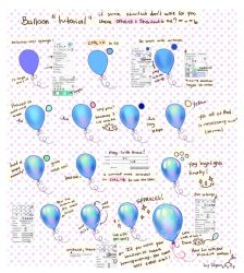 Tutorial - Kids, don't steal balloons, make yours by Hyan-Doodles