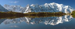 Alps reflection by PyreneesBear