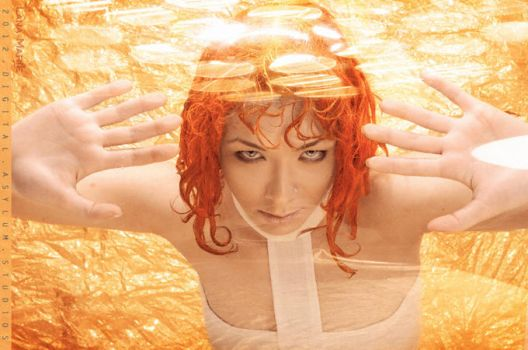 LeeLoo The Fifth Element Cosplay by LanaMarieLive