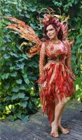 Fire Fairy Costume by desifairy