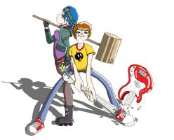 Scott Pilgrim vs The Internets by dippydude