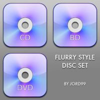 Flurry Style Set 3 - Discs by jord99