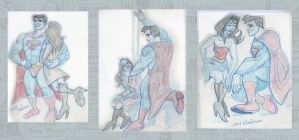SupermanFigureDrawingSession by Stnk13