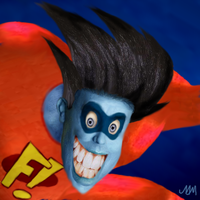 The REAL Freakazoid by awesomeoclock