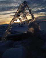Weathered Triangle by Wreathe