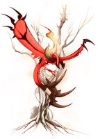 Yveltal by Tapwing