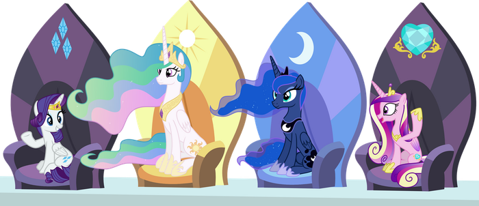 Princesses by punzil504