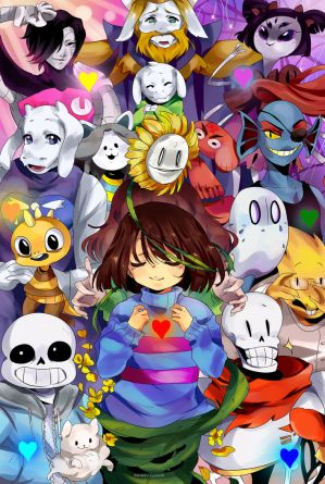 UNDERTALE by Danny-chama