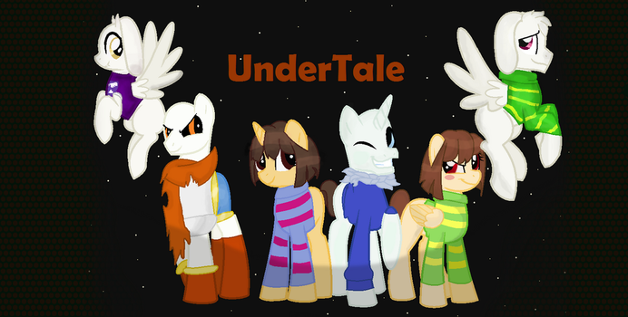 Undertale Characters As MLP by AnimeLovingGirl1209
