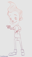 Daily Sketch: Jimmy Neutron by luxandnox