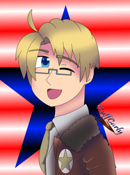 Hetalia~ America by RuffCarly